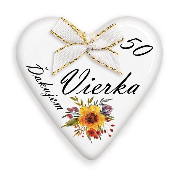 Darčeky na 50 narodeniny pre hostí