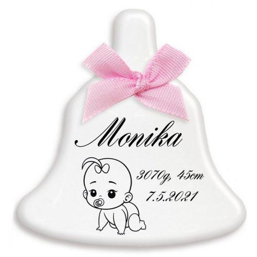 Zvonček malý - Narodenie dieťaťa