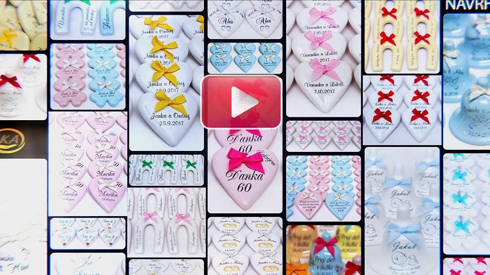 video ako vytvoriť návrh na darček k výročiu svadby