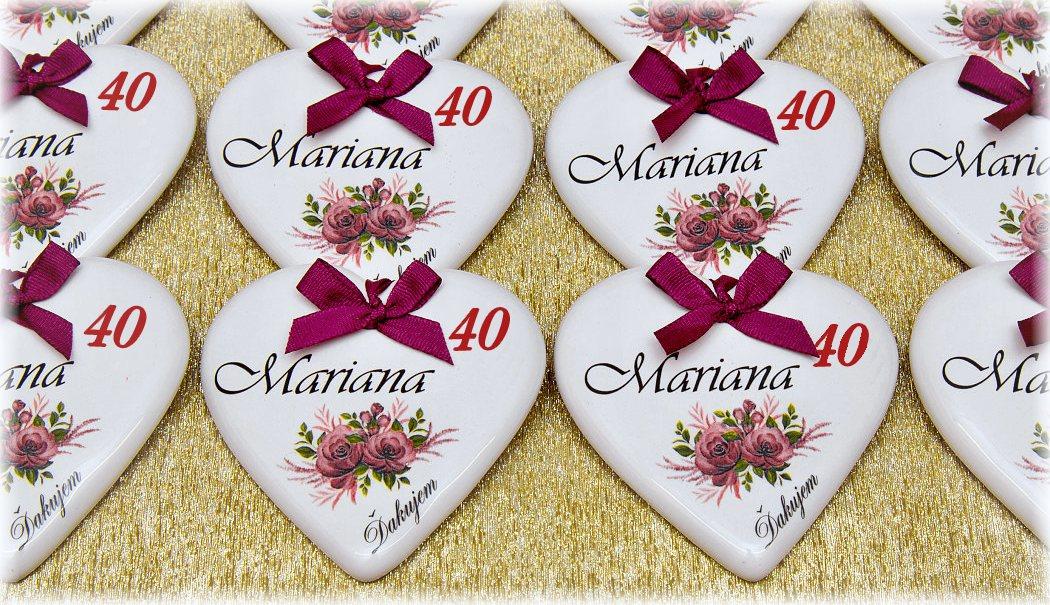 Darčeky k 40 narodeninám